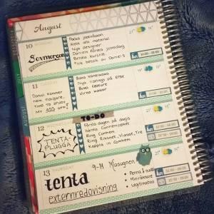 Anna's planner