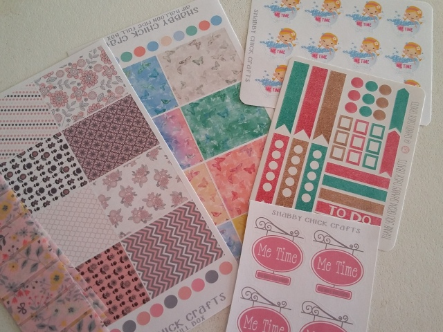 Shabby Chich Stickers