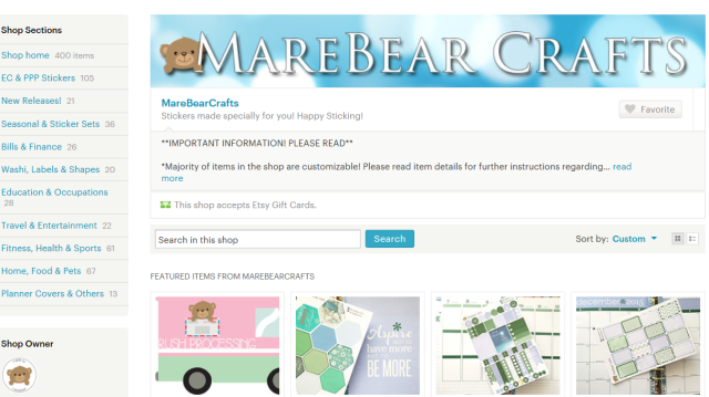 Marebearcrafts