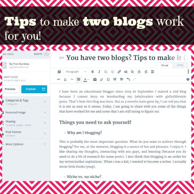 Blog post pin