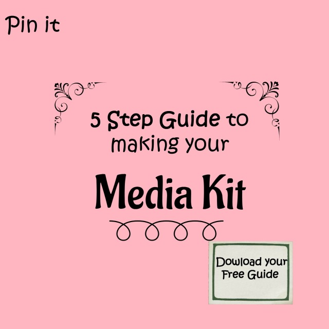 5 Step Guide to making your media Kit