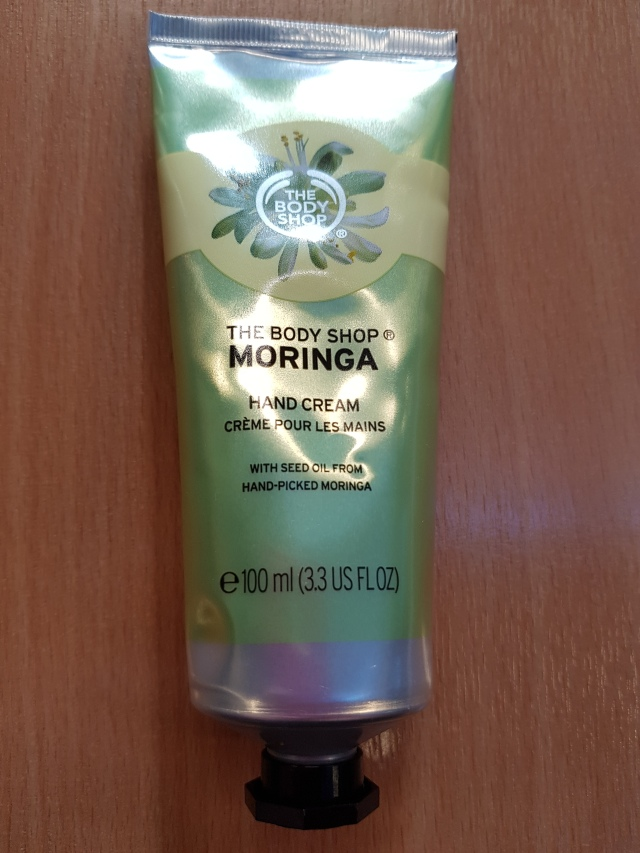 Body Shop Moringa hand cream