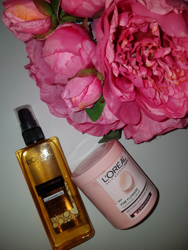 L'oreal cleansing oil
